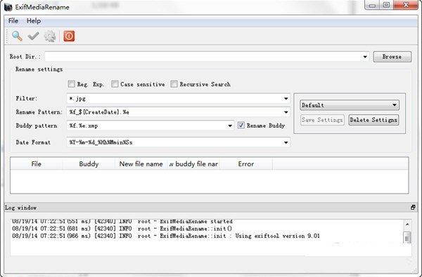 ExifMediaRename(批量改名软件)下载