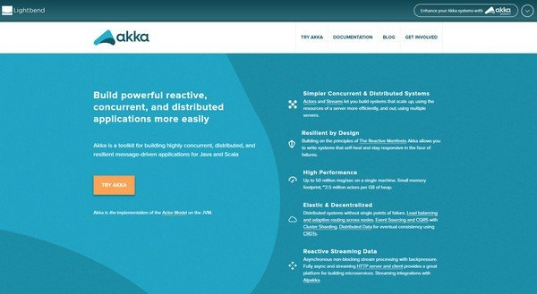 Akka Actor模型开发库