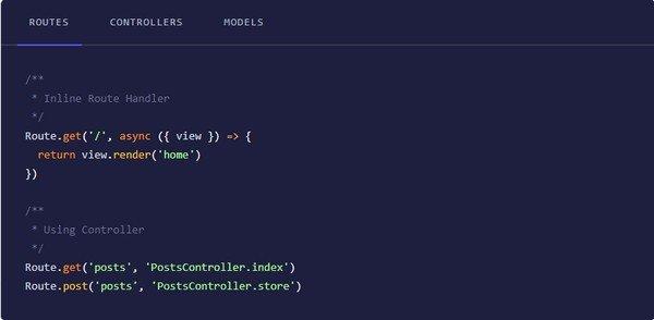 AdonisJs(全栈式Web框架)