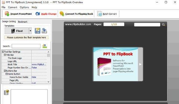 PPT to FlipBook(PPT翻转书页软件)
