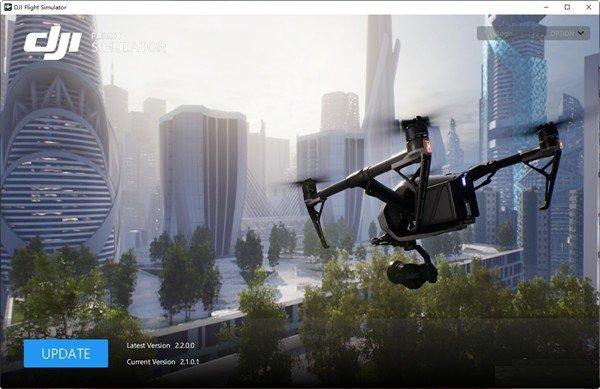 DJI Flight simulator(大疆无人机模拟飞行软件)