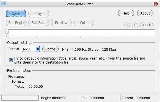 Leapic Audio Cutter(音频文件切割工具)下载
