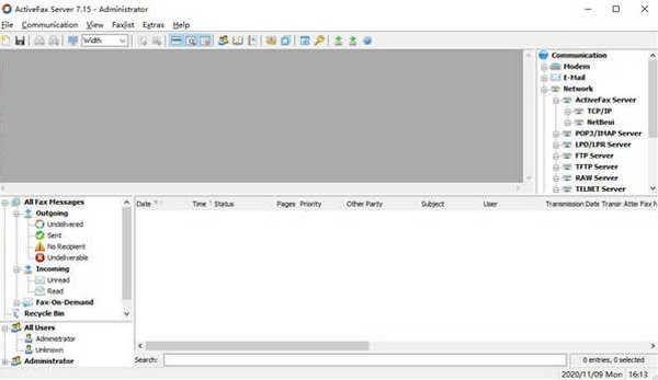 ActiveFax Server(服务器邮件传真)