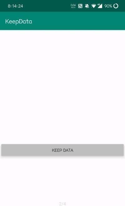 KeepData软件截图1