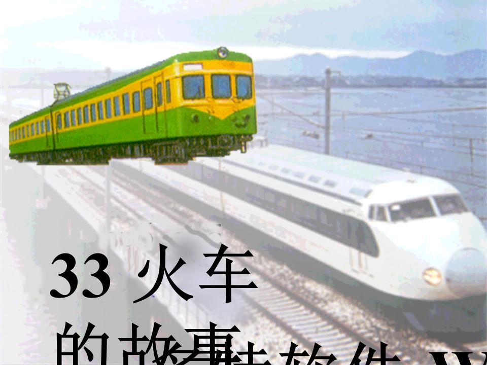 《火车的故事》PPT课件4下载