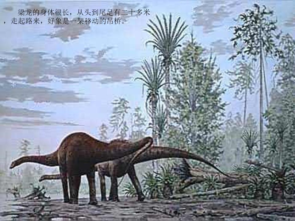 《恐龙》PPT课件下载