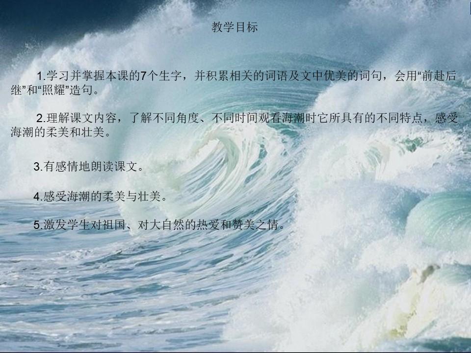 《看海》PPT课件3下载