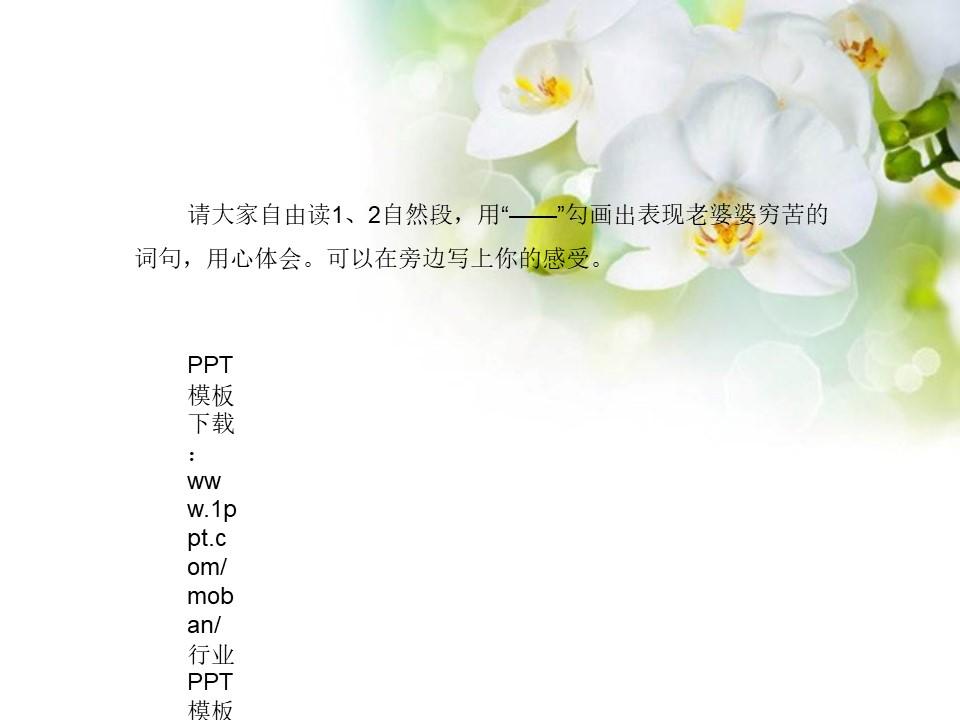 《礼物》PPT课件2下载