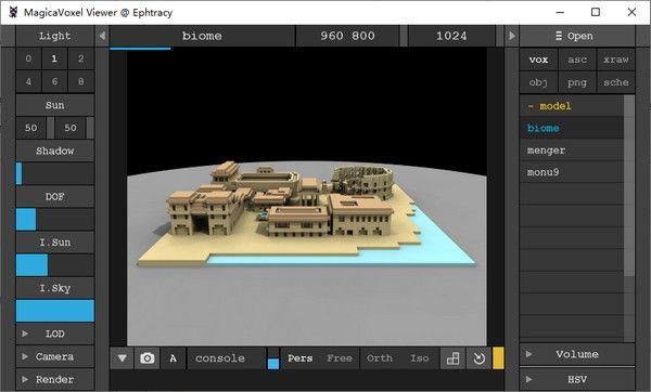 MagicaVoxel Viewer(追踪渲染器预览工具)