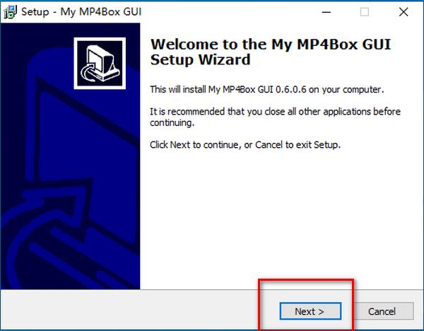My MP4Box GUI(图形化工具)下载