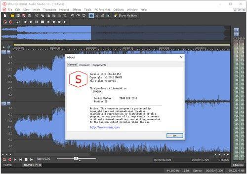 SOUND FORGE Audio Studio(音频处理软件)