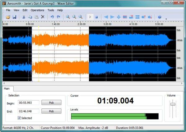 Wave Editor(音频编辑工具)