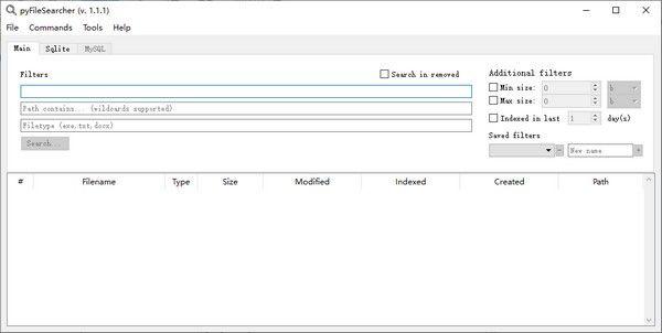 pyFileSearcher(批量文件处理工具)