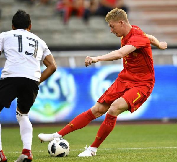 热身-阿扎尔卢卡库进球 比利时3-0