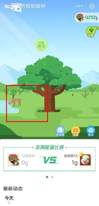 支付宝蚂蚁森林中没有鹿是什么原因?保护地怎么认领?