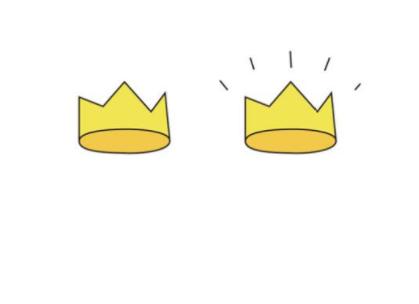 qq画图红包王冠怎么画 qq画图红包王冠画法分享