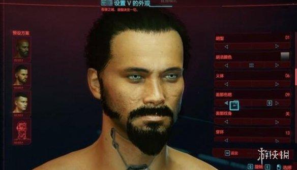 《赛博朋克2077》基努里维斯捏脸数据分享 男角色捏脸数据参考