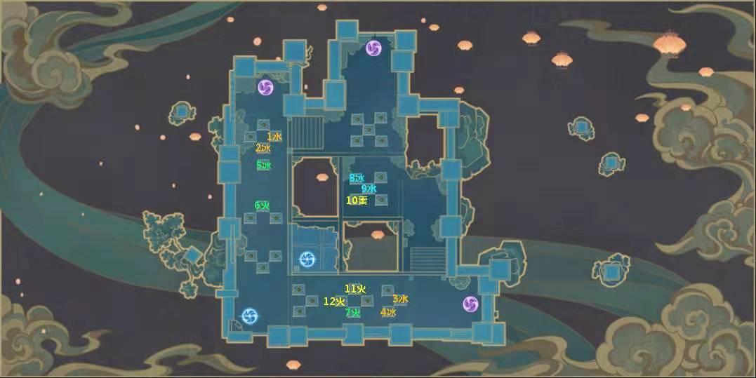 原神霓裳一曲复登楼地图怎么打?原神难度6霓裳一曲复登楼地图通关攻略