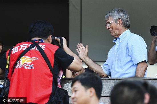 米卢:中国队一定会再次打进世界杯!