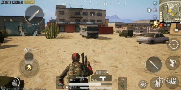 《和平精英》沙漠火电厂房顶怎么上 站得高才能看得远