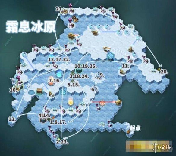 剑与远征霜息冰原流程路线攻略 奖励领取步骤
