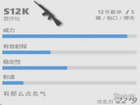 香肠派对喷子s12k怎么样 s12k介绍  香肠派对s12k哪里刷新