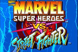 超级漫画英雄对街头霸