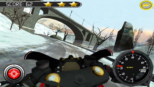 极速摩托冬季高速公路拉力赛软件截图1