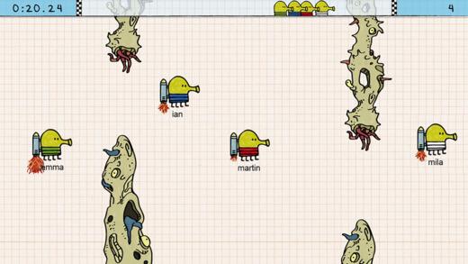 Doodle Jump Race软件截图2