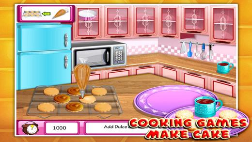 烹饪游戏:美味饼干软件截图0