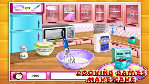 烹饪游戏:美味饼干软件截图1