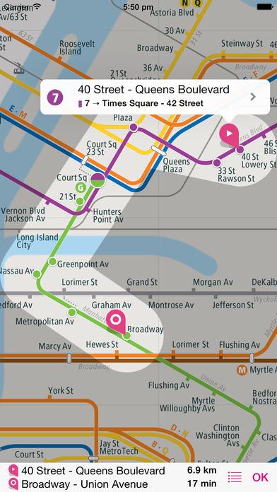 纽约铁路图 Lite软件截图2