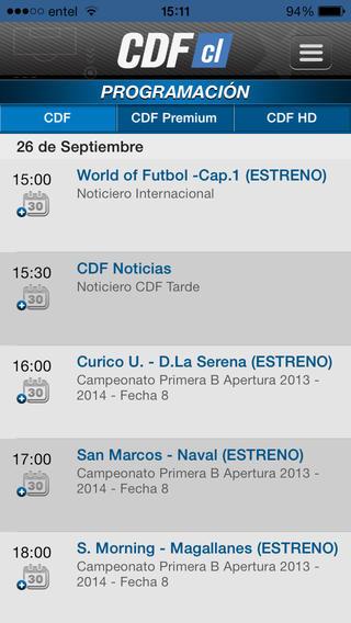 CDF Chile软件截图2