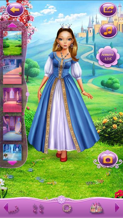 Dress Up Princess Anastasia软件截图1