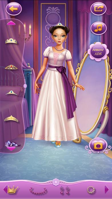 Dress Up Princess Anastasia软件截图2