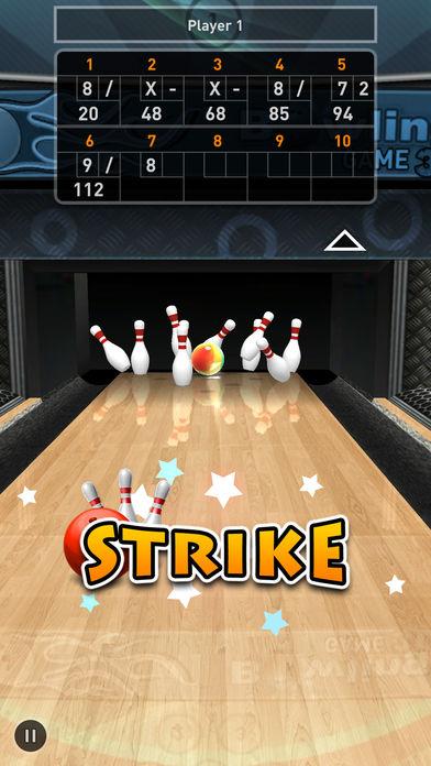 Bowling Game 3D软件截图0