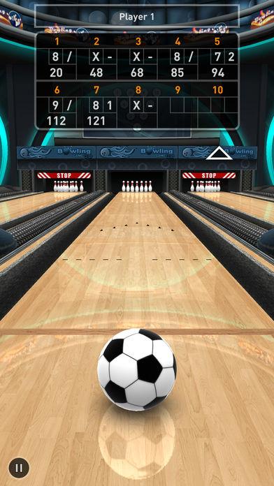 Bowling Game 3D软件截图2