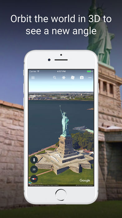 Google Earth(谷歌地球)软件截图0