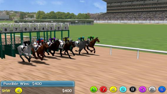Virtual Horse Racing 3D软件截图0