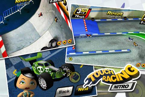 Touch Racing軟件截圖1