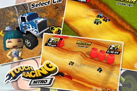 Touch Racing軟件截圖2