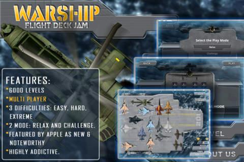 Warship: Flight Deck Jam HD软件截图0