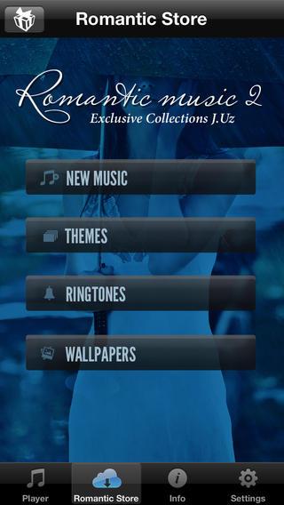 Romantic music 2 Exclusive Collections J.uz软件截图2