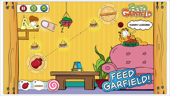 饥饿的加菲猫软件截图1