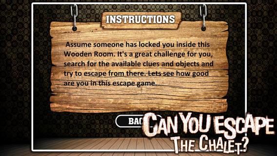 密室逃脱:逃出木屋软件截图1