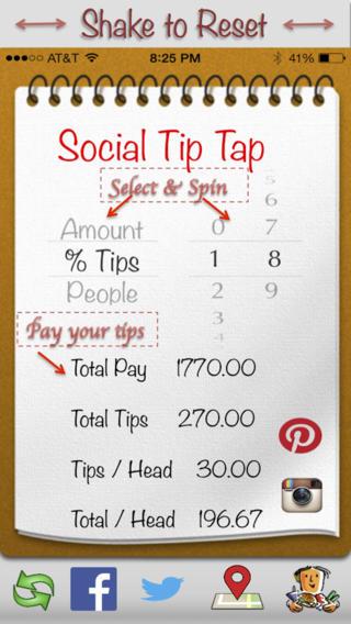Social Tip Tap软件截图0