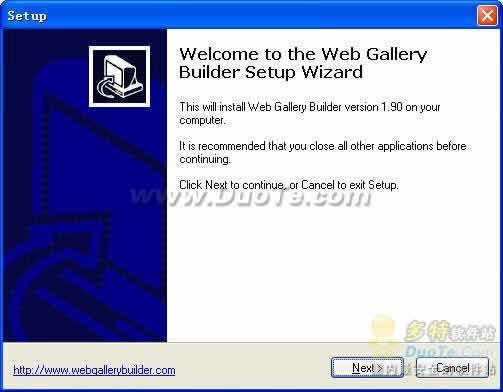 Web Gallery Builder下载