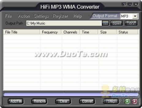 HiFi MP3 WMA Converter下载