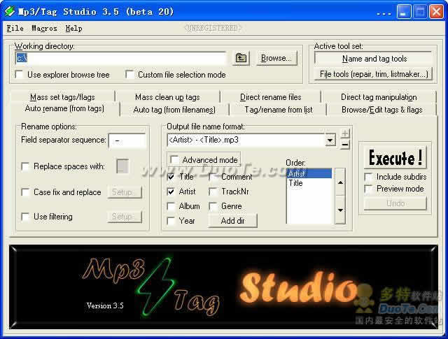Mp3/Tag Studio下载