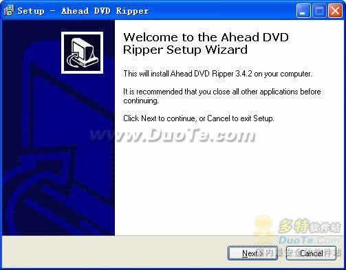 Ahead DVD Ripper下载